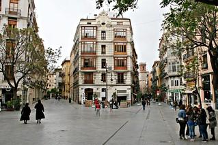 Plaza de los Fueros - València