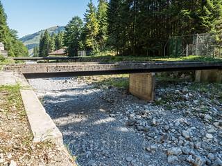 SIH120 Testing Center Ochsenboden Road Bridge 4 over the Sihl River, Studen, Canton of Schwyz, Switzerland