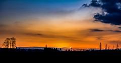 Summer sky (Christie : Colour & Light Collection) Tags: sunset sundown glow colourful evening skylight orange amber intense clouds mood silouette summer burntorange skyworks nikon d 5200 nikond5200 twilight night light