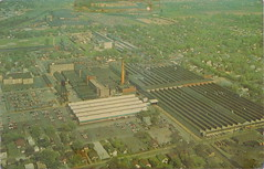"""SE Detroit MI c.1960 GENERAL MOTORS HISTORY DELCO-REMY Electronice Plant in Anderson Indiana THE WORLDS LARGEST BUILDER OF AUTOMOTIVE ELECTRONICS at the time (UpNorth Memories - Donald (Don) Harrison) Tags: vintage antique postcard rppc """"don harrison"""" """"upnorth memories"""" upnorth memories upnorthmemories michigan history heritage travel tourism restaurants cafes motels hotels """"tourist stops"""" """"travel trailer parks"""" cottages cabins """"roadside"""" """"natural wonders"""" attractions usa puremichigan """" """"car ferry"""" railroad ferry excursion boats ships bridge logging lumber michpics uscg uslss"""