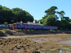 150219 Lelant (4) (Marky7890) Tags: gwr 150219 class150 sprinter 2a35 lelant railway cornwall stivesbayline train