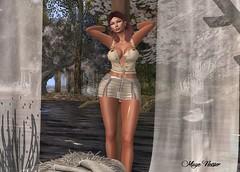 Look 119 (мαчєℓαι ηєιѕѕєя) Tags: pergola portrait picture girl woman legs clothes fash blog second life blogger secondlife blogging avatar virtual maitreya catwa pose sweet sensual hot