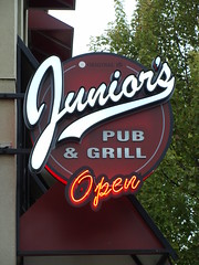 Junior's Pub and Grill (knightbefore_99) Tags: vancouver eastvan bc cool commercialdrive thedrive west coast juniors pub grill dive sad pathetic piss industrial garbage
