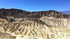 Zabriskie Point, Death Valley (PeterCH51) Tags: deathvalley nationalpark deathvalleynationalpark dvnp california usa america zabriskiepoint desert scenery landscape desertlandscape desertscenery erosion erosionallandscape iphone peterch51