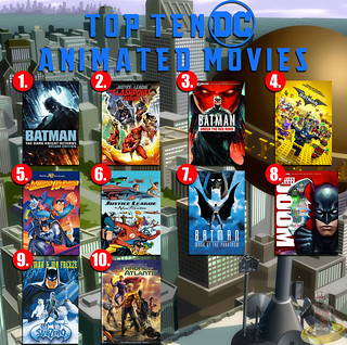 Top Ten DC Animated Movies