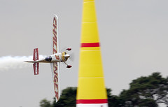 Red Bull Air racing (Bernie Condon) Tags: demo redbullairrace extra aircraft aerobatic pylon inflatable speed fbo farnborough airshow display flying aviation