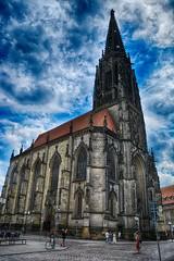 Münster 2018 (22_Juli)_0567b (inextremo96) Tags: münster botanischergarten muenster westfalen widertäufer lamberti aegidien dom kirche church germany mittelalter darkage kiepenkerl