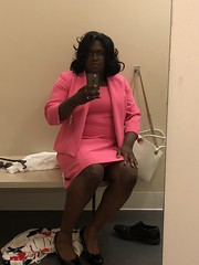 Trying on outfits at Macy's (shayla981) Tags: