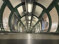 The Beauty of Embankment (Aaron Ubasa) Tags: citylife urbanlife life city urban transportforlondon tfl station path tunnel underground londonunderground subway tubestation londontube tube embankment london