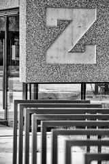The end (kceuppens) Tags: zorro building gebouw z black white blackandwhite zwart wit antwerp antwerpen universiteit university nikon d810 nikond810 nikkor 80400 nikkor80400 afs letter