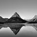 You Can't Explain the Impulse (Black & White, Glacier National Park)