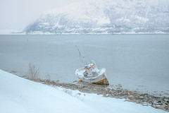 Blizzard (Sizun Eye) Tags: blizzard thenorthcape finnmark norway boat snow snowstorm fjord mountain winter march 2018 sizuneye nikond750 tamron2470mmf28