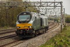 212A2790 (Phil_the_photter) Tags: class66 class68 class90 66546 66088 66594 90049 90016 66763 heamiesbridge wcml westcoastmainline railfreight gbfr lightengine