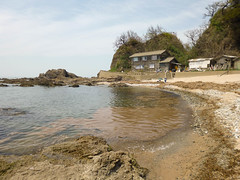 Secret beach. (Will Design Works) Tags: japan motorcycle touring