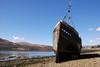 Wreck of the MV Dayspring, Corpach. (ho_hokus) Tags: 2018 caledoniancanal corpach escocia lochlinnhe mvdayspring nikond80 schottland scotland scozia tamron18270mmlens unitedkingdom boat loch ship wreck écosse caol