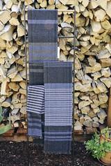 Saori Cashmere Scarves (chickpeastudio) Tags: cashmere saori handwoven scarf