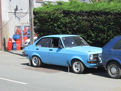 Ford Escort 1.3 L (Andrew 2.8i) Tags: british car classic carspotting street spot spotting mark mk 2 mk2 1300l 13l 1300 l 13 escort ford