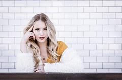 Love this wall!! (Casey George) Tags: art women portraitphotography denver 85mm d750 nikon fashion portrait model