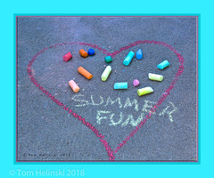 Summer Fun (tomh2m) Tags: grandkids art chalk sidewalkchalk sidewalk drawing