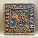 Moravian Pottery and Tile Works, Peaceable Kingdom Tile (1977)