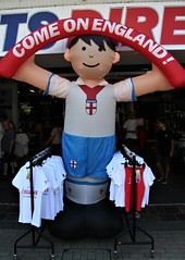 Come On England (Canis Major) Tags: broadmead bristol character england worldcup semifinal inflatable support football croatia soccer hopesofanation 500 1000 2000 5000 10000 20000 30000 40000 50000 60000