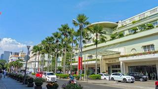 Eingang zum Legendären REX Hotel