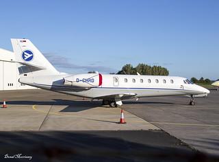 Hahn Air Cessna 680 Sovereign D-CHRD