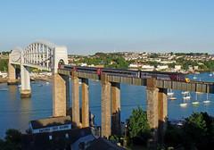 43321 Royal Albert Bridge (2) (Marky7890) Tags: xc 43321 class43 hst 1v56 royalalbertbridge railway saltash cornwall cornishmainline train