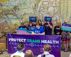 2018.07.17 #ProtectTransHealth Rally, Washington, DC USA 04706