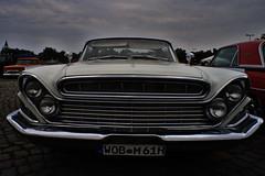 DeSoto 1961 (Triple-green) Tags: 1961 20mm auto carlzeiss carlzeissjena desoto flektogon420 fujifilm fujifilmxt1 hannover lensturbo m42 schützenplatz streetmag uscar v8 zhongyilensturboii
