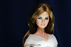 Erin in wedding dress (Annabeth R.) Tags: doll integrity toys fashion royalty fr nuface nu face erin salston full speed supermodel collection convention white wedding dress portrait