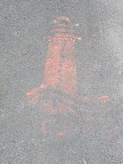 IMG_3275 (emilyD98) Tags: streetart insolite st saintnazaire stencil pochoir sol trottoir mur wall lighthouse phare