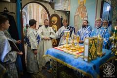 Освящение храма 630