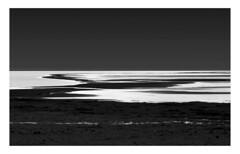 Volcanic Lake Reynisfjara Peninsula (www.davidrosenphotography.com) Tags: lake volcano volcanic black bw mono iceland water seascape landscape