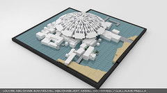 Lego Louvre Abu Dhabi 1 (guillaume.pisella) Tags: lego architecture building art museum abu dhabi saadiyat island cultural district louvre sea dome gallery moc