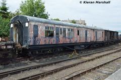 114, Whitehead, 7/7/18 (hurricanemk1c) Tags: railways railway train trains 2018 rpsi railwaypreservationsocietyofireland whitehead gswr greatsouthernandwesternrailway classl13 openthirdbrake 114