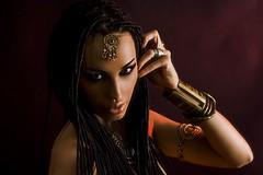 Mystical Fairy (ClvvssyPhotography) Tags: mystical beauty woman female indoor exotic headshot mythic eyes gorgeous fairy