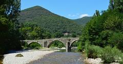 Mialet (Gard), pont des Camisards et gardon de Saint-Jean (gunger30) Tags: mialet gard cévennes languedocroussillon occitanie france 2018 rivière gardon gardondesaintjean panorama pontdescamisards pont paysage