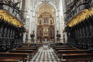 Coro y Altar Mayor
