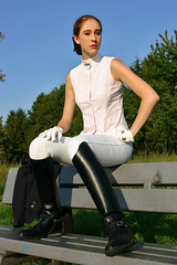 Natalie 29 (The Booted Cat) Tags: sexy riding teen model girl boots ridingboots jodhpur equestrienne