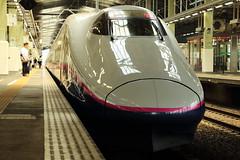 E2 Series Shinkansen (Teruhide Tomori) Tags: 新幹線 上越新幹線 とき 高速鉄道 新潟駅 電車 列車 e2系 日本 japan japon nigata joetsushinkansen superexpress bullettrain e2series jr japanrailway toki jr東日本 railway railroad train