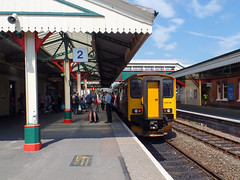 150238 Paignton (Marky7890) Tags: gwr 150238 class150 sprinter 2t16 paignton railway devon rivieraline train