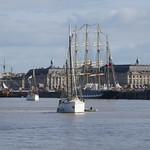Dans le port de la Lune, Tall Ships Regatta 2018, Bordeaux, Gironde, Nouvelle-Aquitaine, France. thumbnail