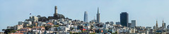 somethings remain the same (pbo31) Tags: bayarea california nikon d810 color july summer boury pbo31 over sanfrancisco city urban panoramic large stitched panorama fishermanswharf salesforce skyline transamerica telegraphhill coittower church northbeach blue