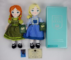 Frozen: The Broadway Musical Collectibles - Entire Haul - Front View (drj1828) Tags: frozen broadway musical merchandise collectible groupphoto purchase doll plush pin anna elsa