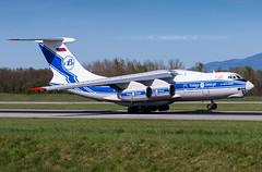 RA-76952 Ilyushin Il-76TD-90VD Volga-Dnepr I BSL I (Stephane GolfTraveller) Tags: ra76952 ilyushin il76td90vd volgadnepr bsl mlh euroairport basel mulhouse flughafen lfsb aeroport airport planespotting © stephane golftraveller il76 panning shot canon