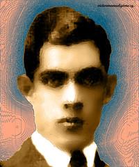 MY FATHER FRANCISCO WHEN HE WAS YOUNG. RIP. (Viktor Manuel 990.) Tags: painting pintura portrait retrato textures texturas digitalart artedigital querétaro méxico victormanuelgómezg