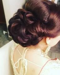 #touchofdimple #tamilmua #topmakeupartist #gtamakeupartist #gtahairstylist #torontomakeupartist #bramptonmakeupartist #mississugamakeupartist #torontohairstyle #bridalhair #hudamakeup #bramptonhair #bridalupstyle #panjabibride #softglam #bridal2018 #reali (Dimple Shah) Tags: mehndi henna tattoo makeup airbrush fashion wedding dimpleshah