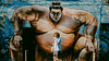 I . G O T . T H E . P O W E R (Panda1339) Tags: pumped man bricklane london ldn streetphotography streetart sumo uk light raisedfist