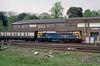 33027, Southampton, May 1988 (David Rostance) Tags: 33027 class33 brcw southampton